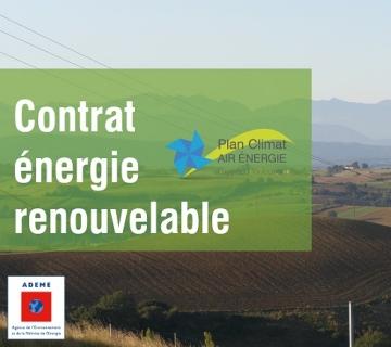 Contrat energie renouvellable CEP