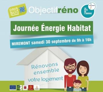 Journée énergie habitat miremont