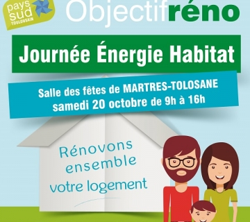 Journée énergie habitat de Martres Tolosane