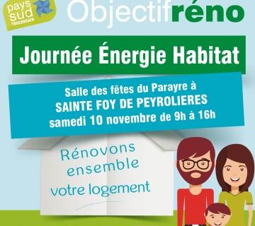 Journée énergie habitat Sainte Foy de Peyrolières