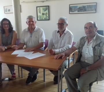 Signature convention appel à projet