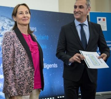 signature de la convention TEPcv avec Mme Ségolène Royale et M Paul Marie Blanc