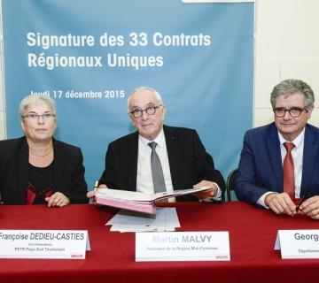 Signature du CRU
