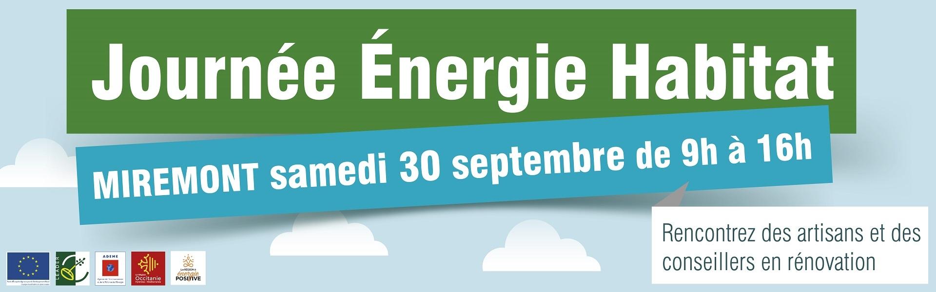 Journée énergie habitat de Miremont