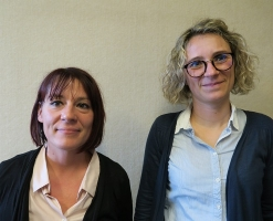 Clémentine Mello et Elysabeth Dupuy instructrices ADS