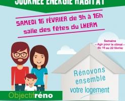 Journée énergie habitat au Lherm