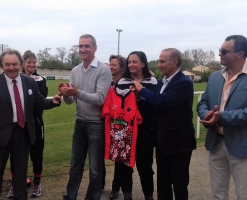 Remisez de maillots femina rugby
