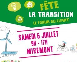 Fête le transition - PCAET - service énergie